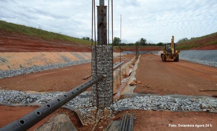 Construção de Aterro Sanitário