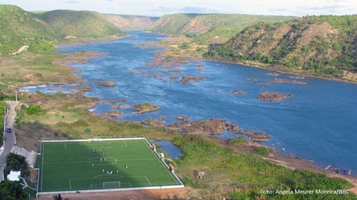 Redução da vazão no baixo Rio São Francisco