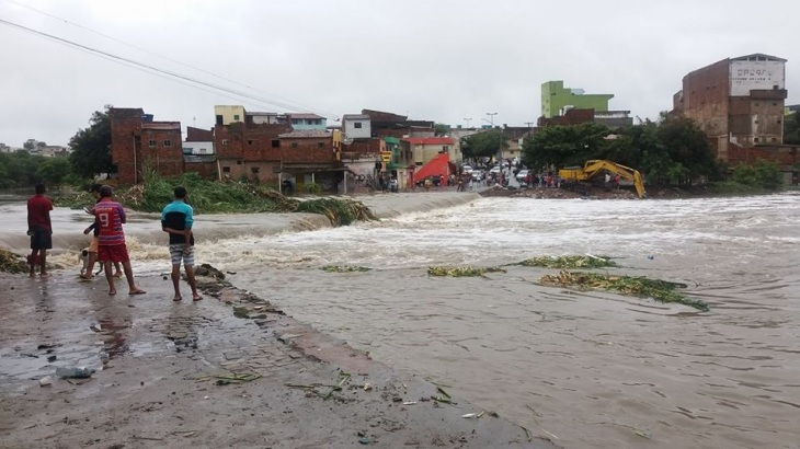 Enchente em Caruaru