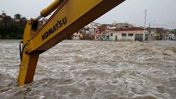 Enchente Rio Ipojuca