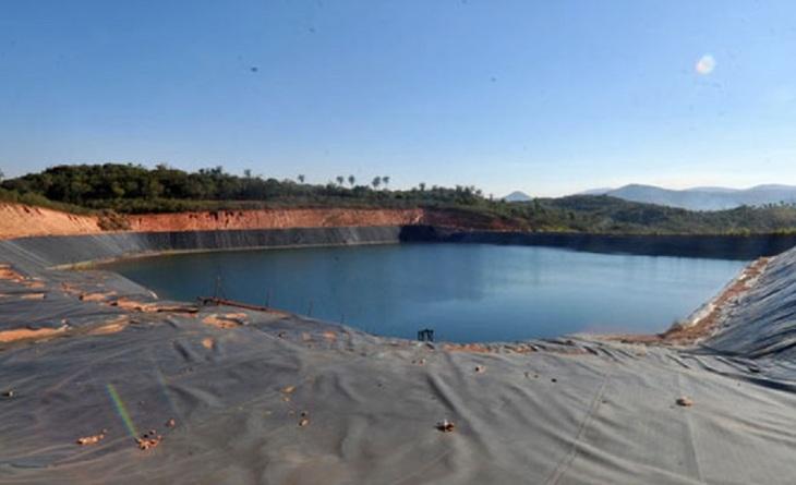 Barragem de rejeitos de mineração