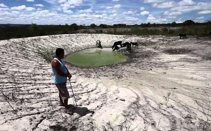 Seca no Norte de Minas Gerais