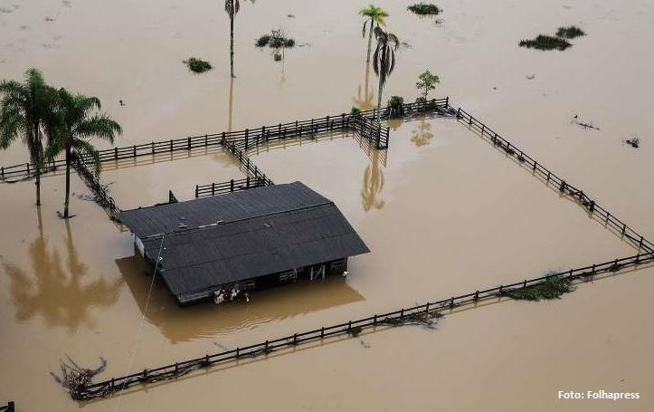 Enchentes em Florianópolis