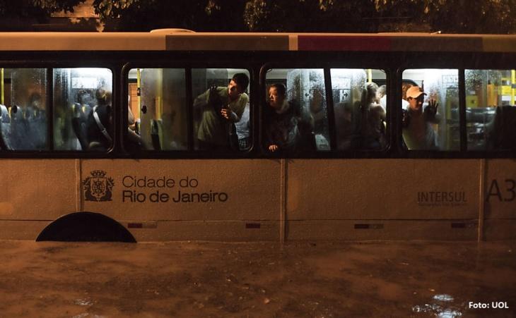 Enchentes Rio de Janeiro