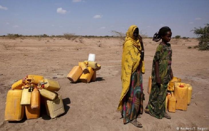 Seca na África