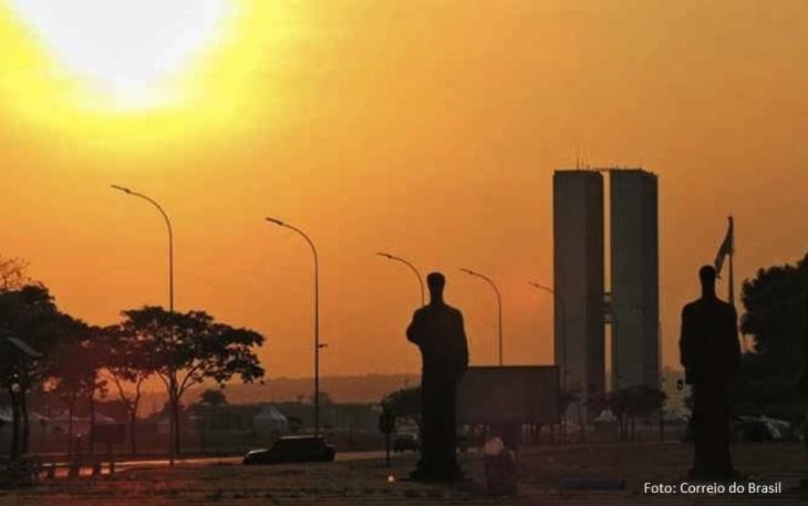 Seca no DF - foto correio do brasil