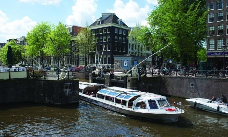 Hidrovia em Amsterdam