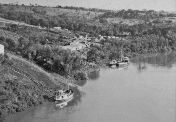 Navegação no Rio Paraná