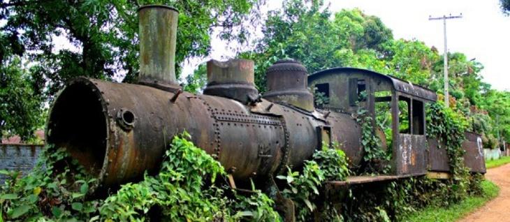 Locomotiva abandonada