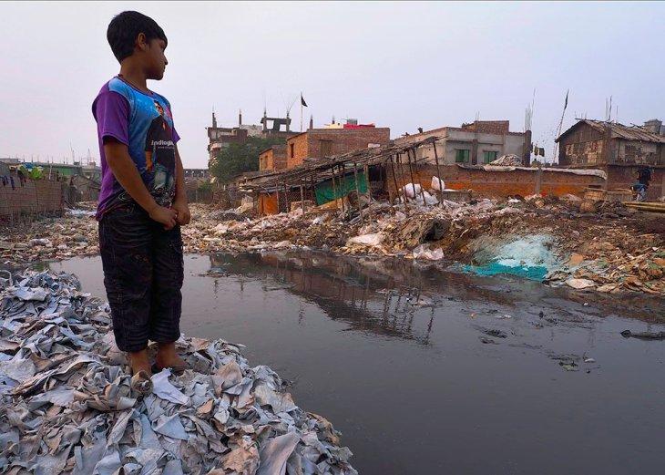 Poluição das águas em Bangladesh