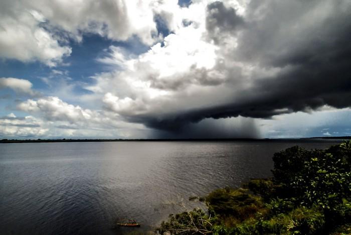 Chuva na Amazônia