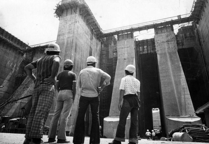 Construção de Itaipu