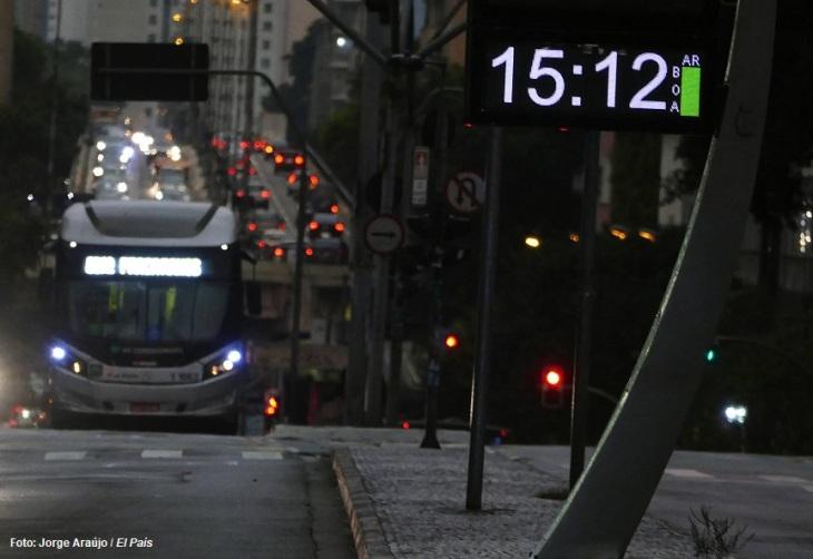 Chuva Negra em São Paulo