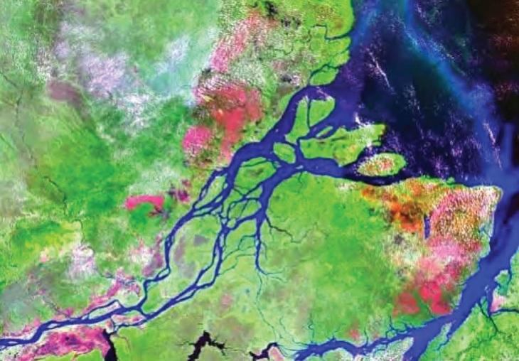 Foz do rio Amazonas