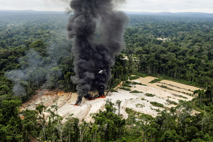 The Wider Image: Brazil's Amazon rainforest under siege by illegal mines