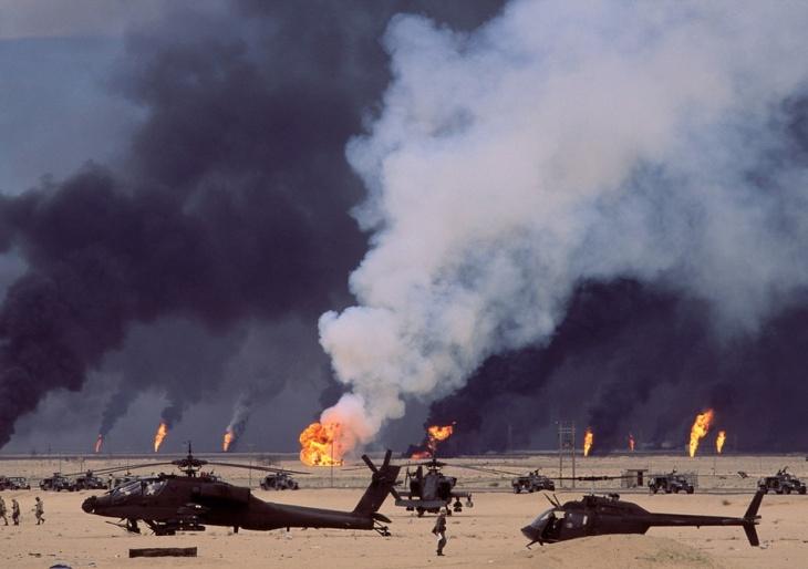 Vazamentos de petróleo no Kuwait
