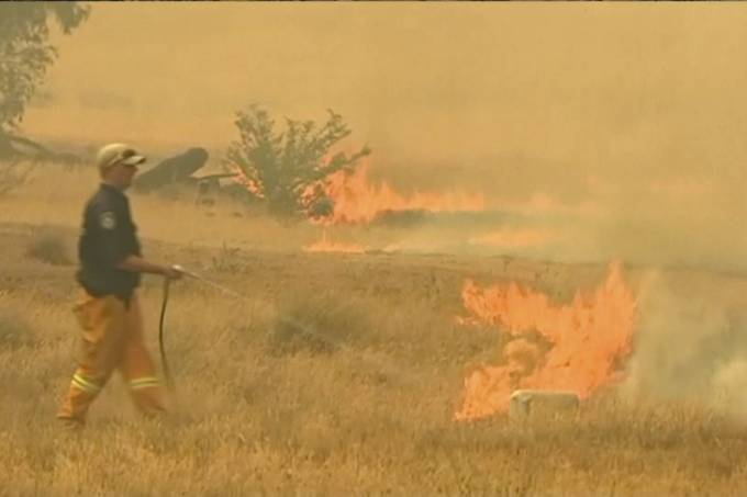 Incêndios florestais na Austrália ameaçam o abastecimento de água