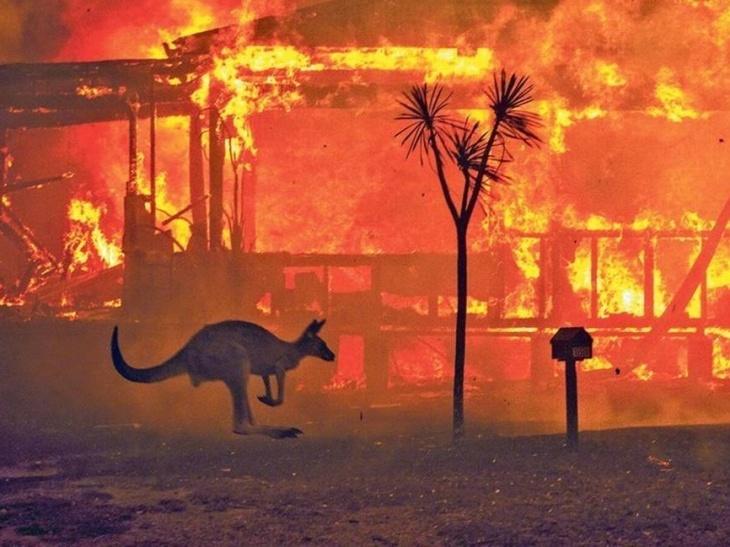 Incêndio-Austrália