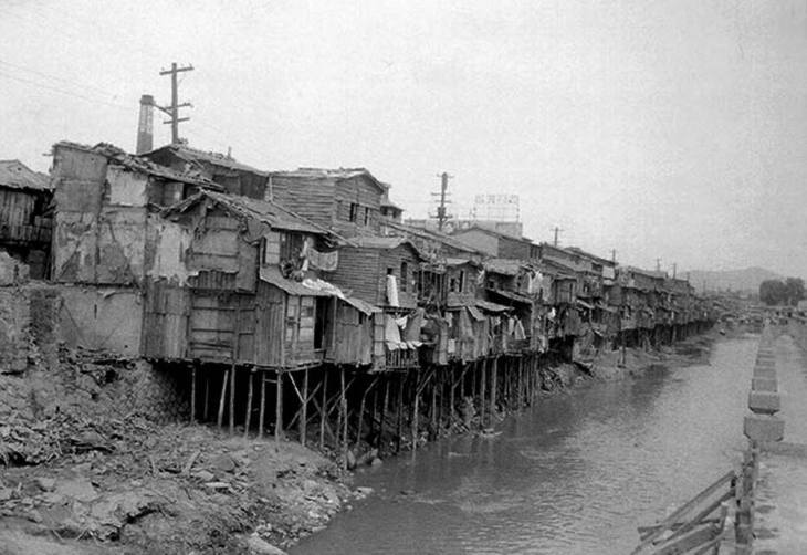 Antigo rio Cheonggyecheon