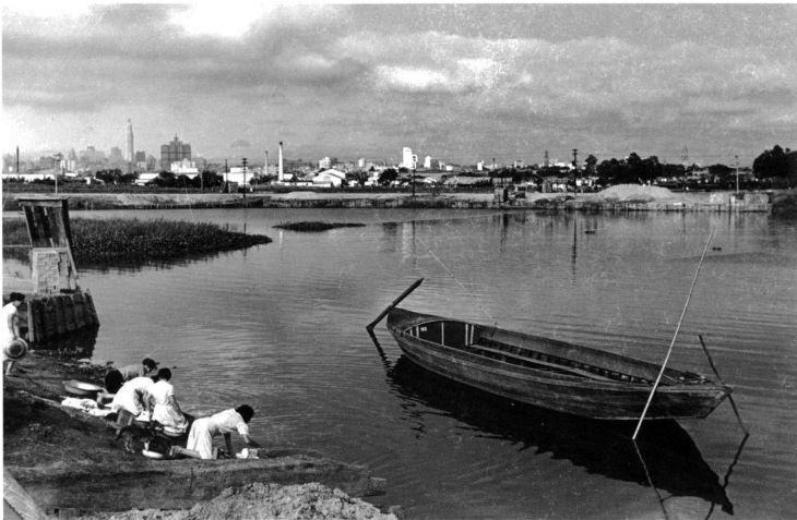 Rio Tietê no passado