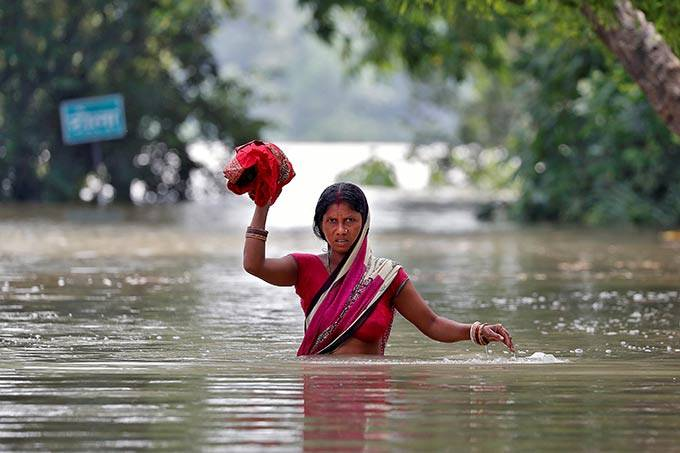 Enchentes em Bangladesh