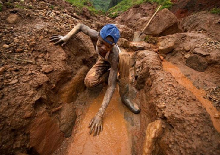 Mineração de coltan