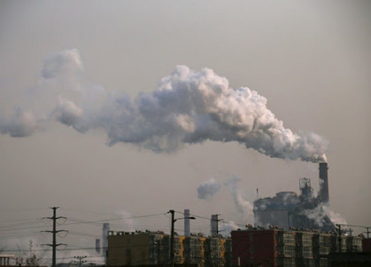 Geração termelétrica na China