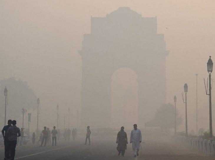 Poluição em Nova Déli