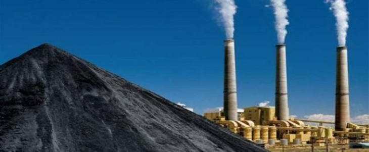 Usina termelétric a carvão na Índia