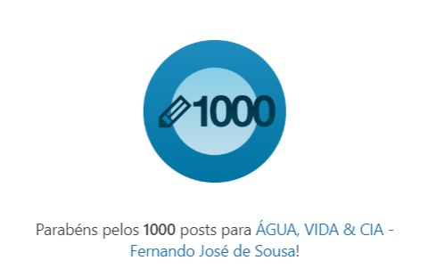 1000 POSTAGENS
