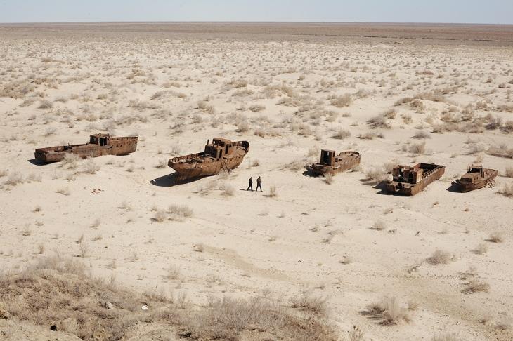 Seca no Mar de Aral