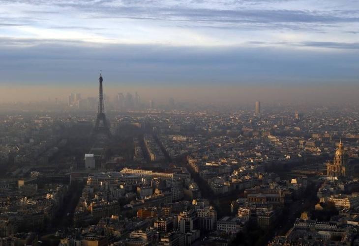 Poluição do ar em Paris