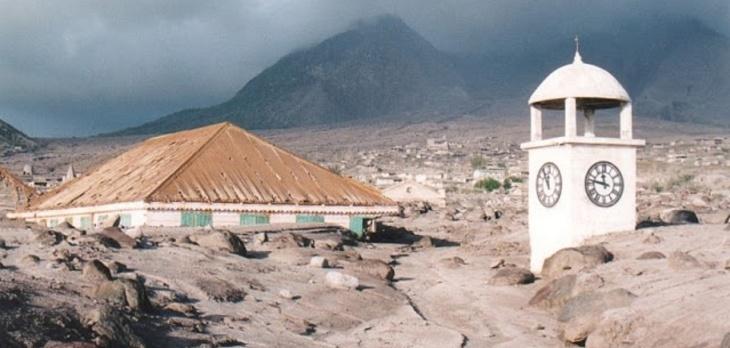 Montserrat derramamento de lava